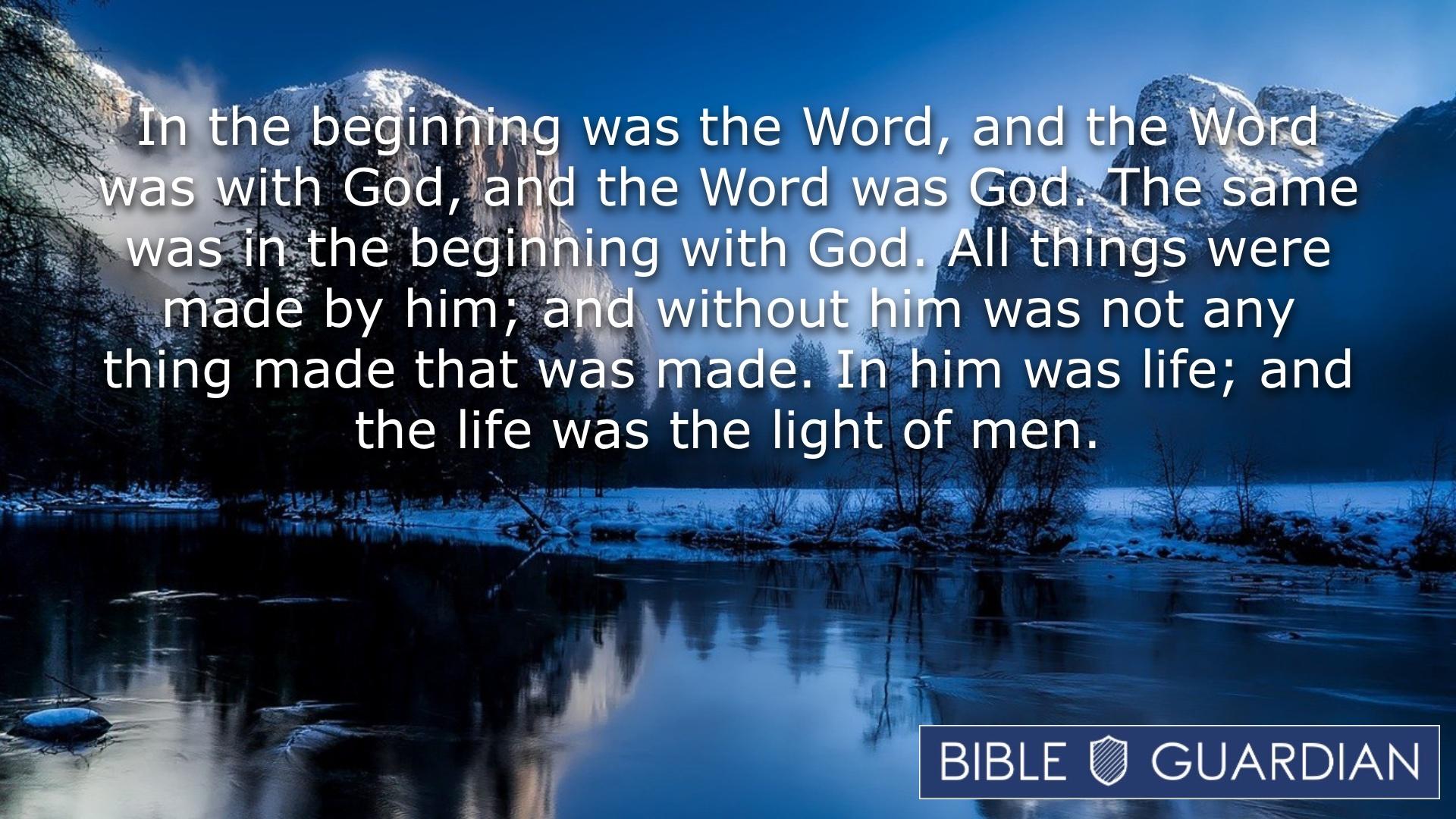 John 1:1-4